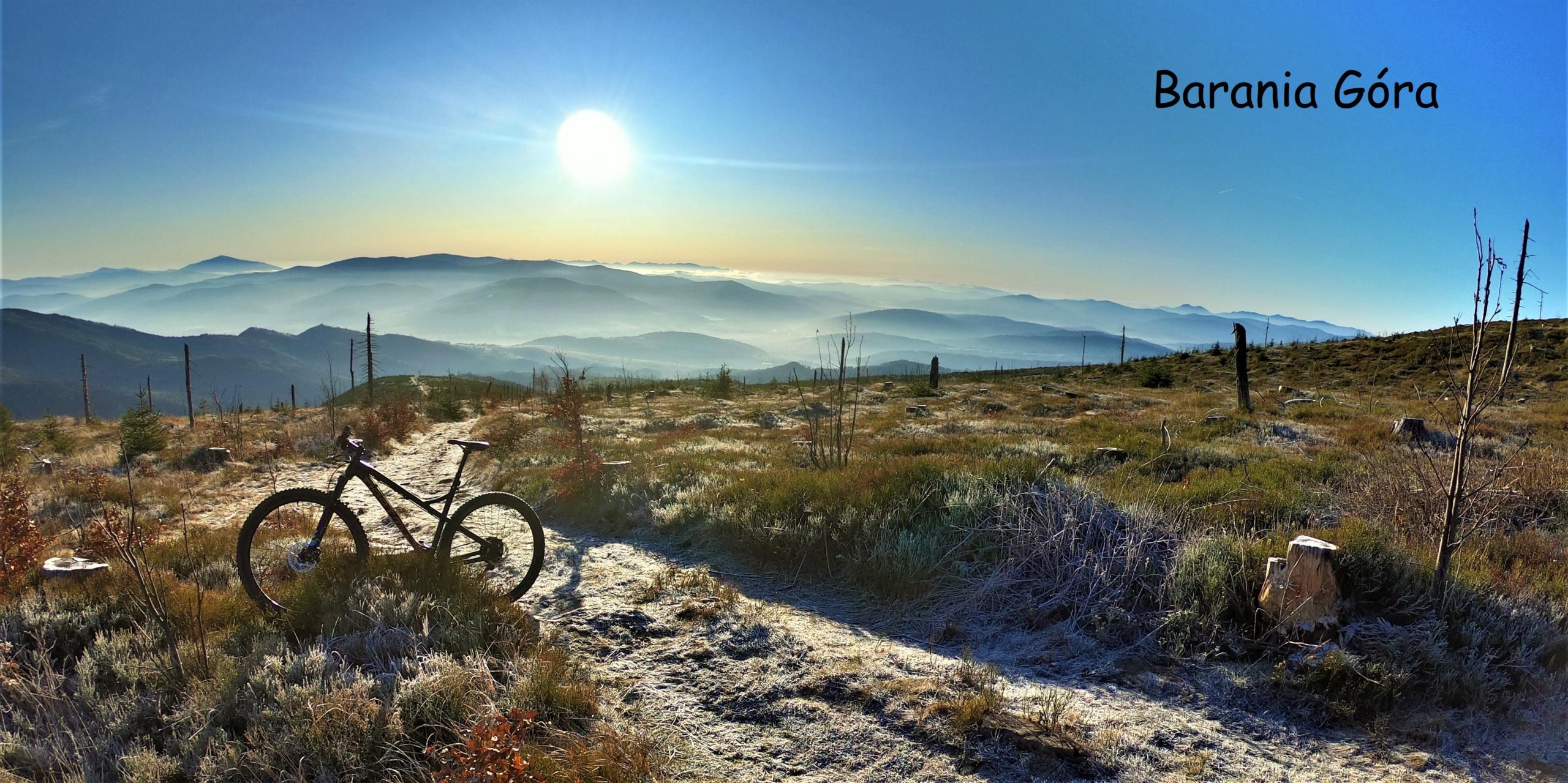 najpiękniejsze miejsca w Beskidzie Śląskim rowerem Barania Góra