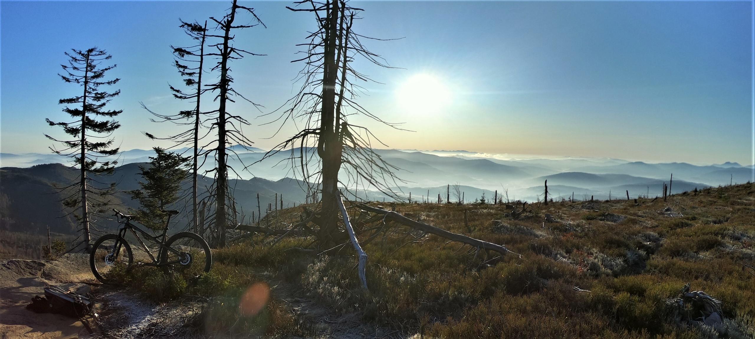 Barania Góra rowerem jedno najpiękniejsze z miejsc w Beskidzie Śląskim
