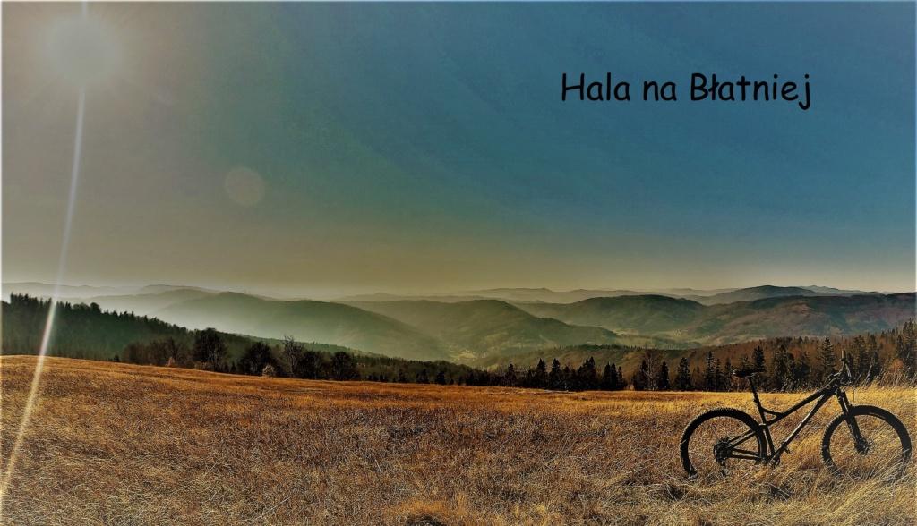 najpiękniejsze miejsca w Beskidzie Śląskim rowerem Hala na Błatniej