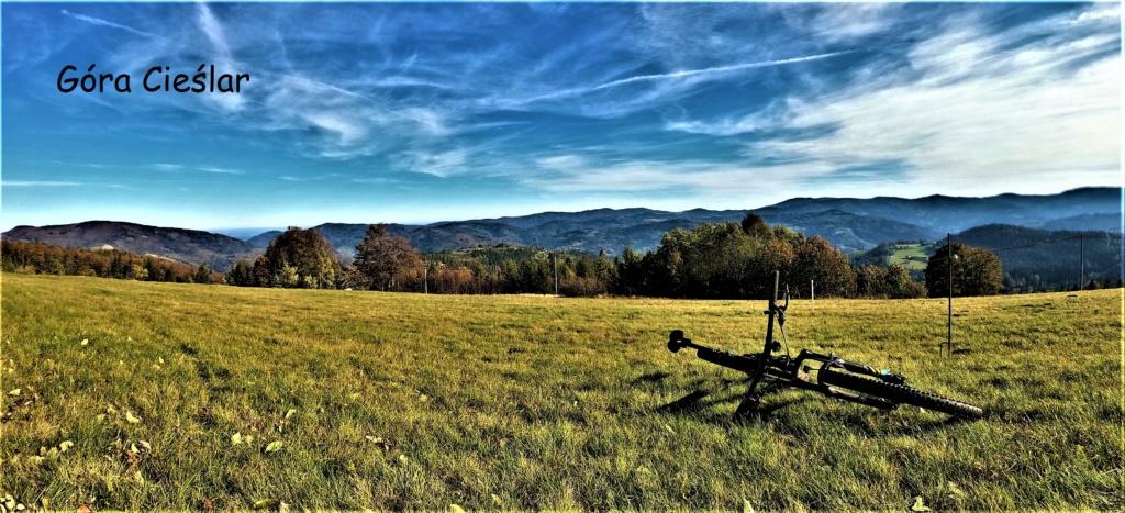 najpiękniejsze miejsca w Beskidzie Śląskim rowerem Góra Cieślar