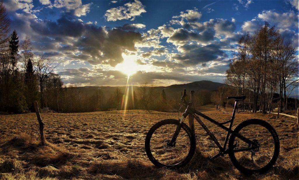 Na Trzy Kopce Wiślańskie rowerem