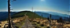 Skrzyczne szlak na trasie Rowerem dookoła Beskidu Śląskiego