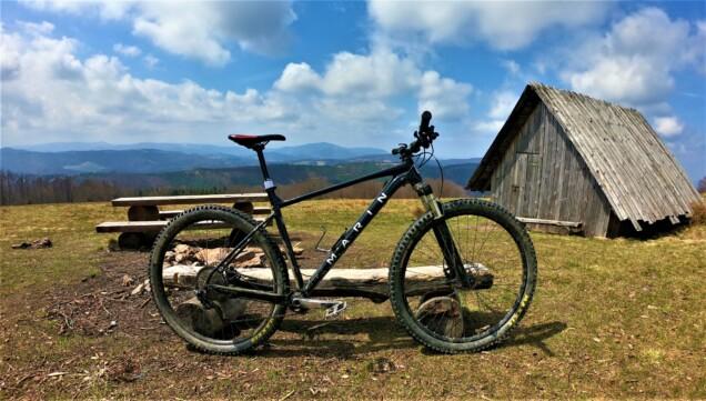 TEAM MARIN 2 rower na górskie trasy